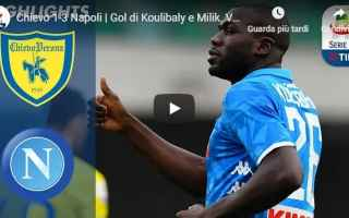 chievo napoli video gol calcio