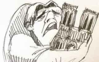 dal Mondo: notre dame  parigi  quasimodo  disney