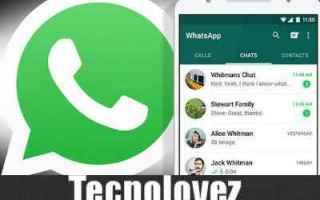 WhatsApp: whataspp aggiornamento screenshoot
