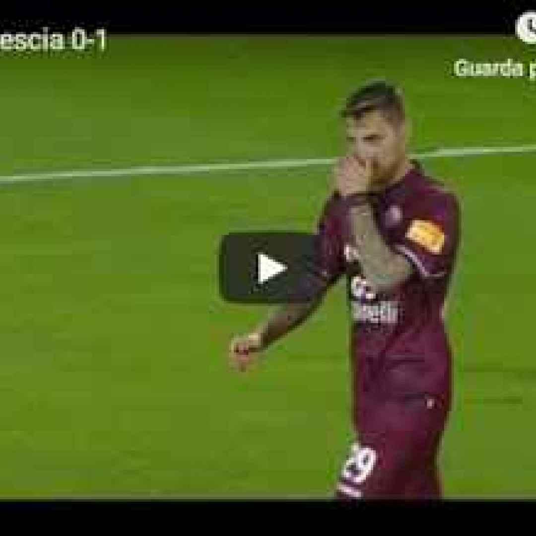 livorno brescia video calcio gol