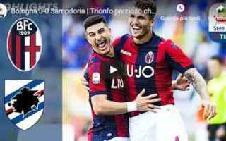 bologna sampdoria video gol calcio
