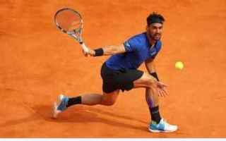Tennis: fognini  montecarlo  tennis
