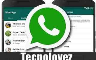 whatsapp recuperare chat