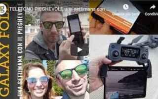 Cellulari: samsung galaxy video smartphone fold