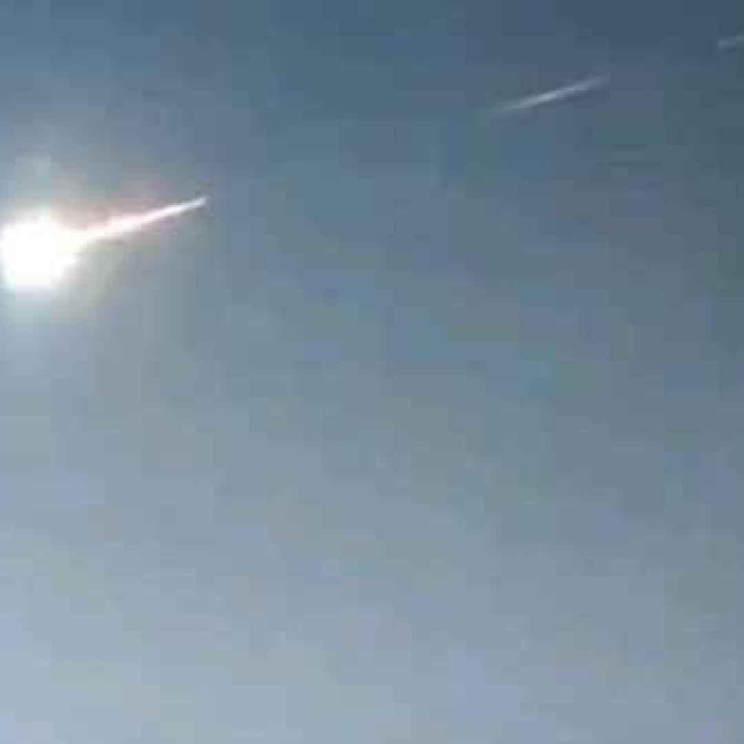 meteorite  russia  spazio