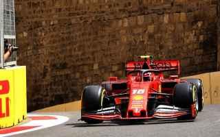 Formula 1: f1  ferrari  leclerc  azerbaijangp