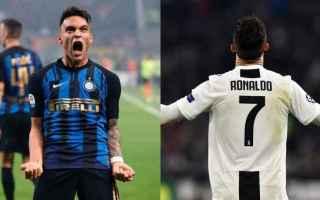 Serie A: inter  juventus  diretta