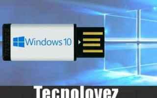 Microsoft: windows 10  aggiornamento bloccato  usb
