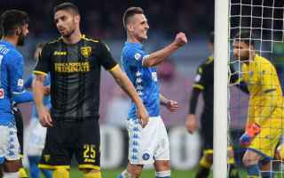 Serie A: napoli  frosinone