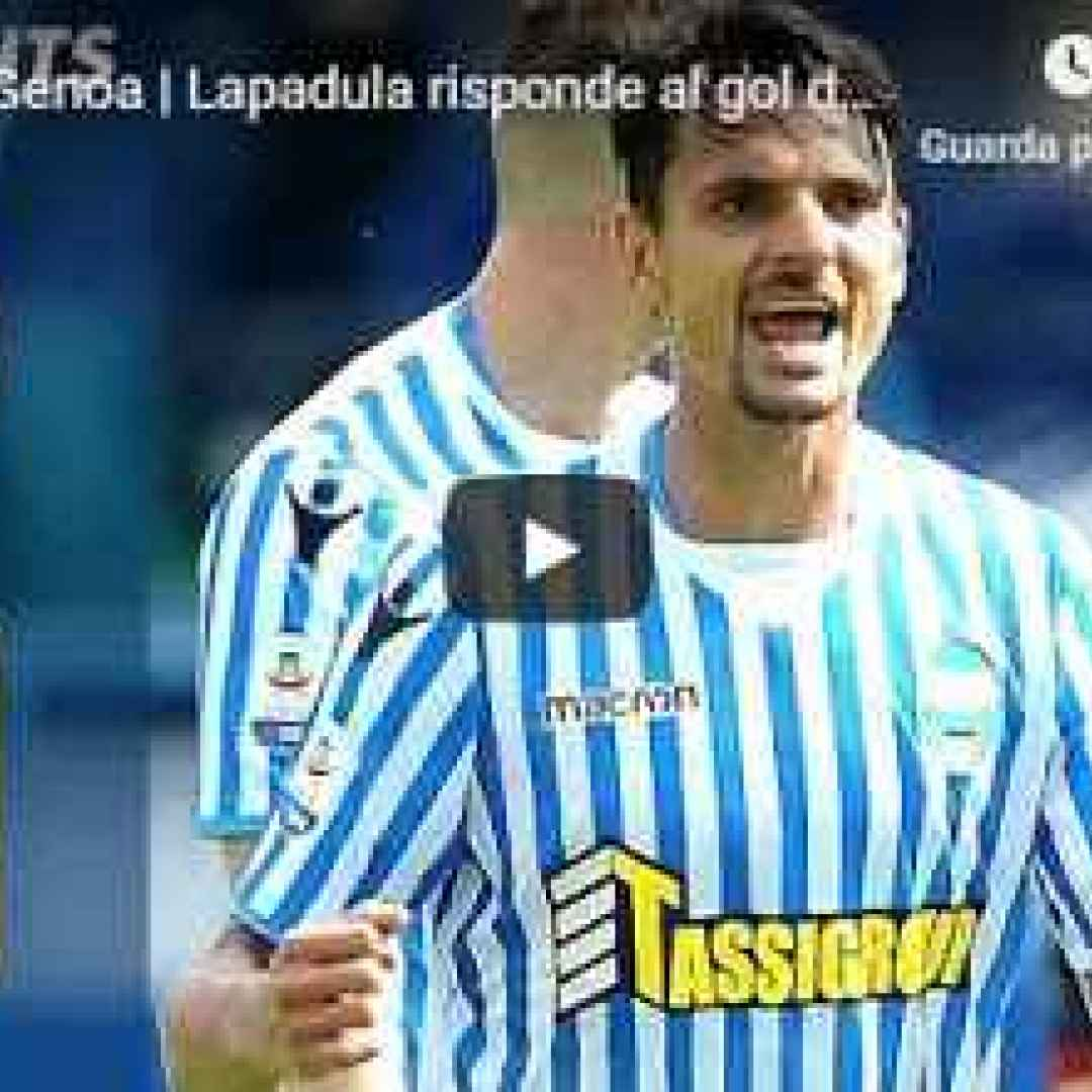 spal genoa video calcio gol