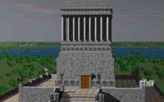 Storia: mausoleo  mausolo  artemisia  briosside