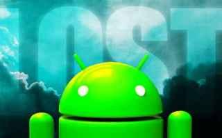 App: android  furto  smarrimento  smartphone  tel