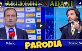 adani allegri video juve gli autogol