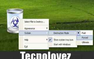 Sicurezza: freeraser  programma  eliminare file