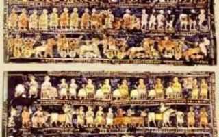 Cultura: mosaico  stendardo di ur  sumeri