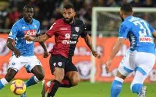 Serie A: napoli  cagliari  diretta