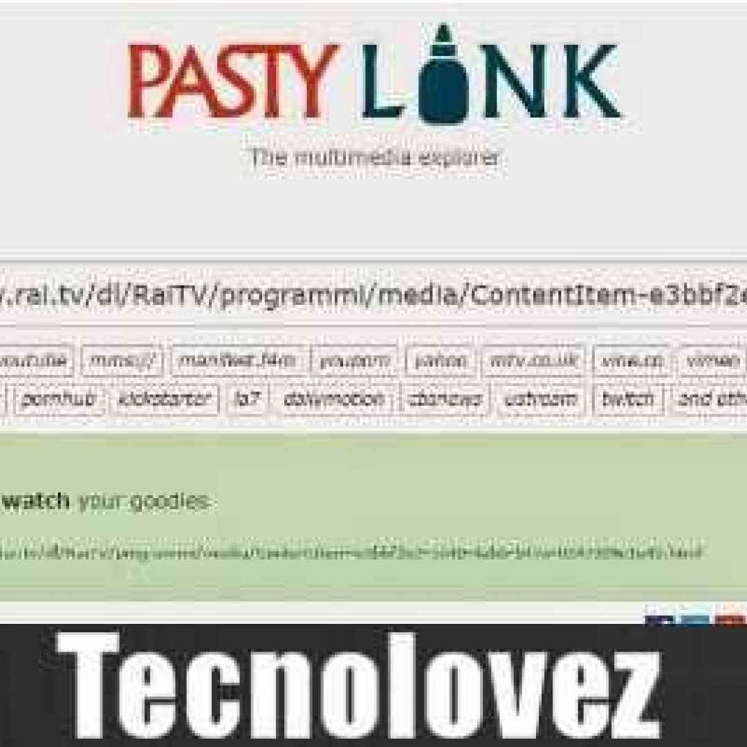 pastylink scaricare video