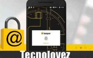 App: keeper gestione password app