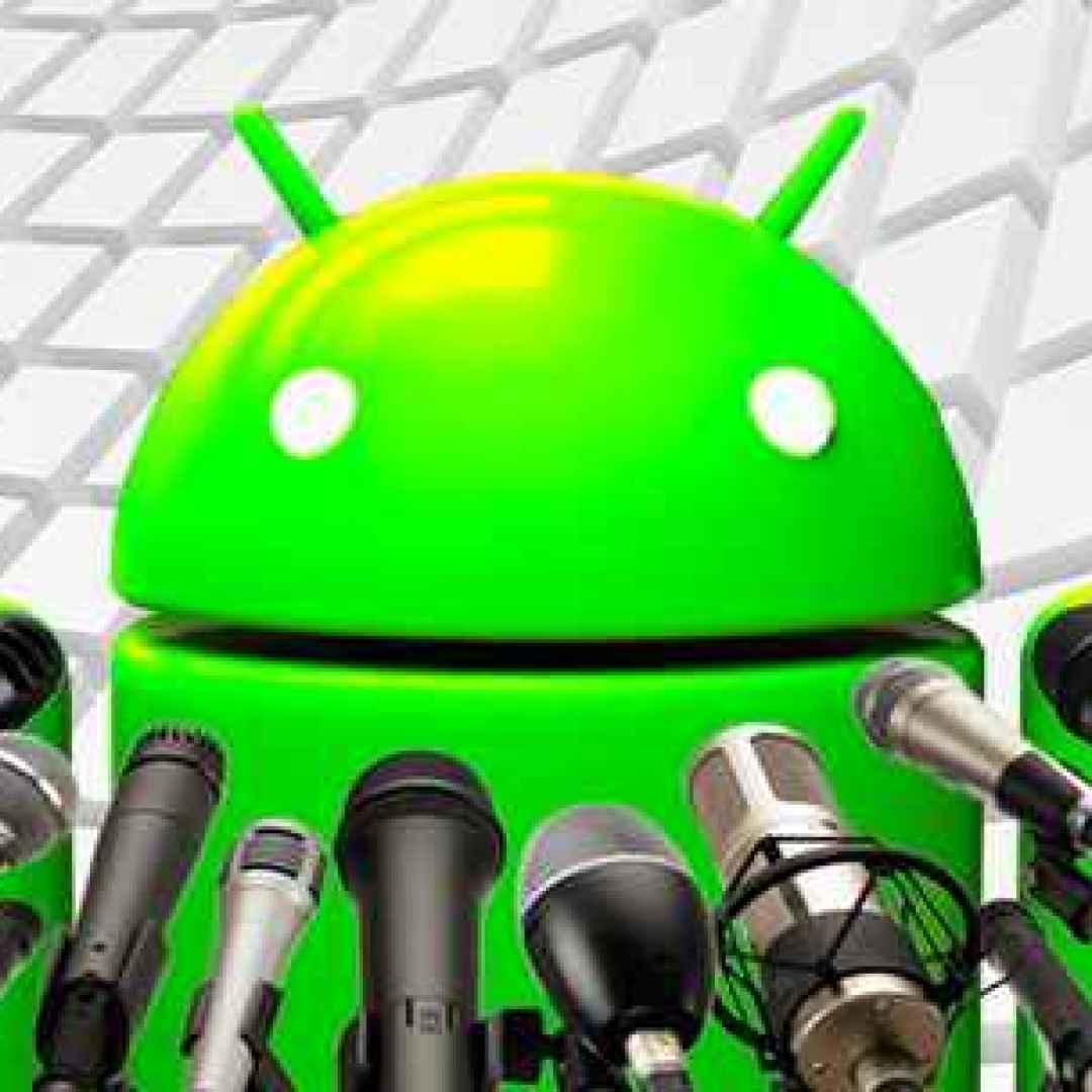registratore android app google telefono