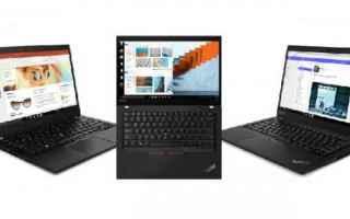 FABRIZIO FERRARA - Cè poco da dire sui nuovi Lenovo ThinkPad T ed X: quando si tratta di portatili