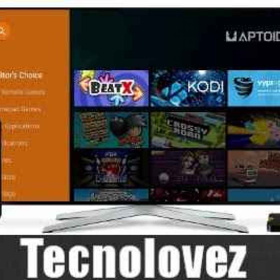 Aptoide TV) Store Alternativo ottimizzato per Amazon Fire TV