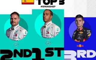 Mercedes dominanti anche in gara, ma a differenza di ieri è Lewis Hamilton a vincere il duello con