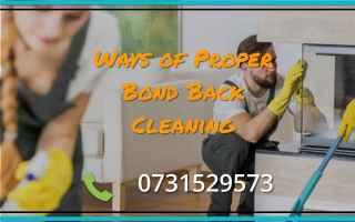 Notizie locali: proper bond back cleaning