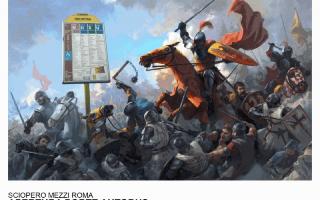 Roma: roma  trasporto pubblico  sciopero