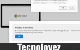 Browser: (Come Bloccare) Fare clic su aggiungi estensione per chiudere questa pagina
