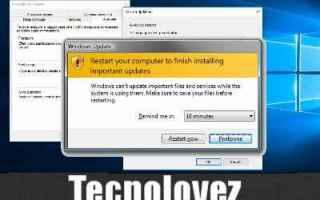 window 10 disattivare aggiornamenti