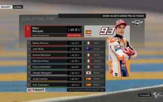 Dominio e solito Marquez show, nelle qualifiche di Le Mans nonostante una caduta, è riuscito a conq