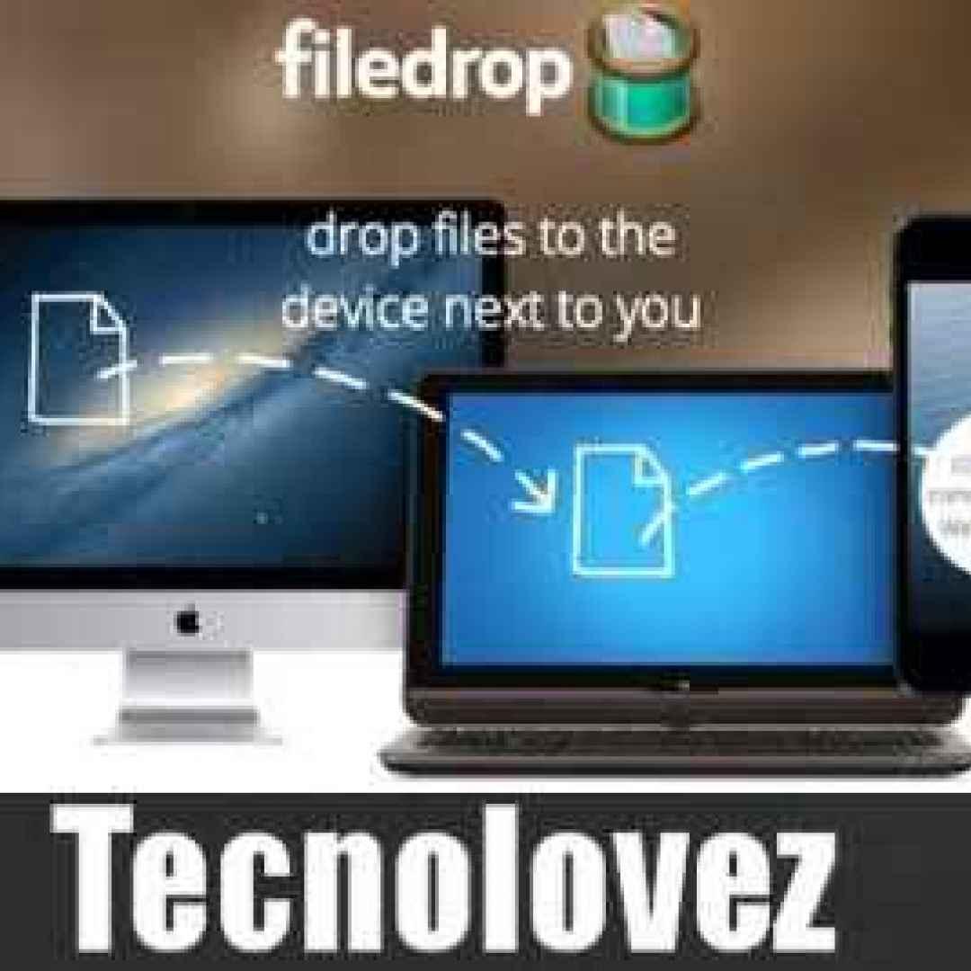 file drop trasferire file