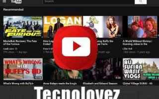 youtube tema scuro