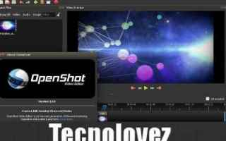 Software Video: openshot video editor video
