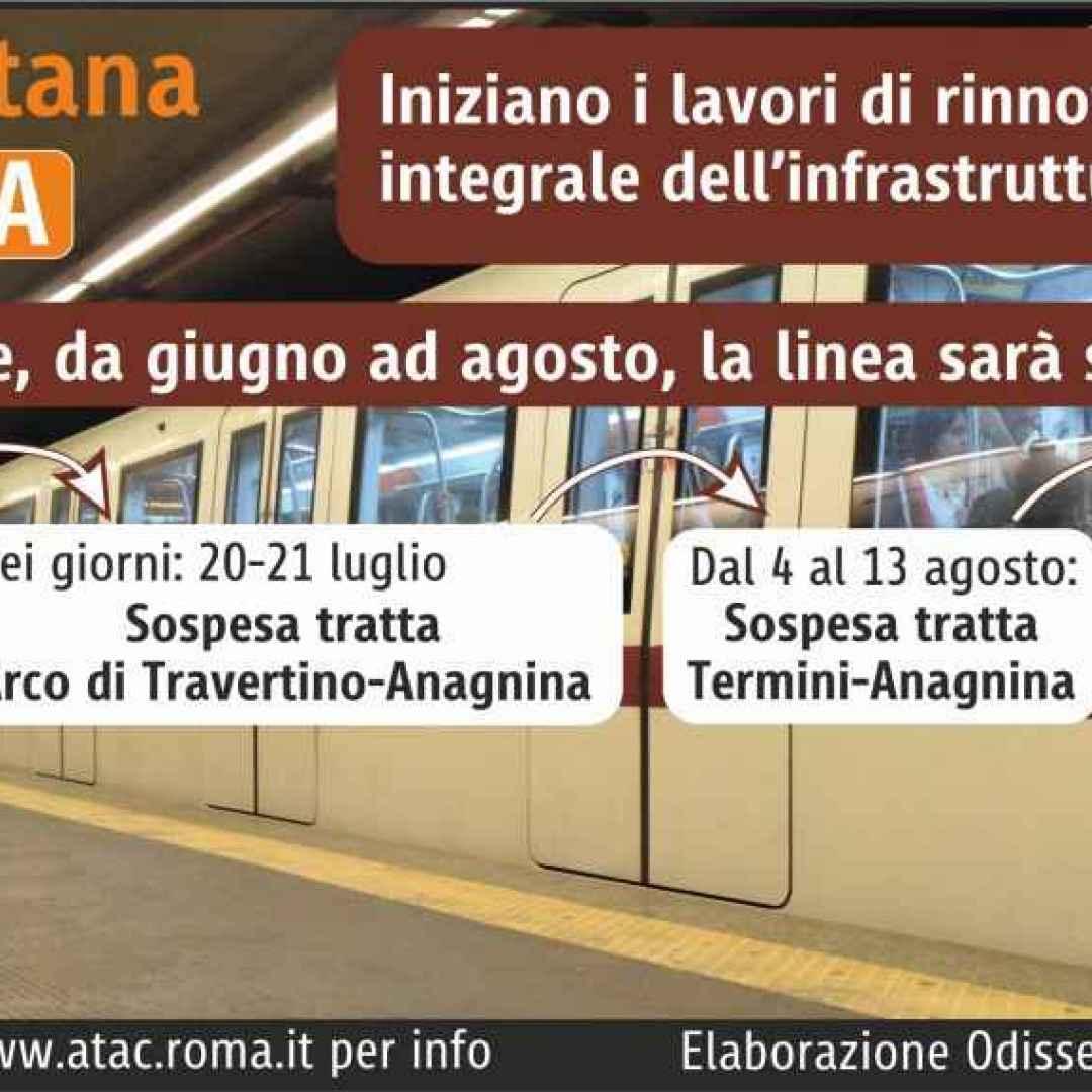 atac  roma  trasporto pubblico  metro