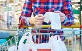 Economia: consumi  italia  testa spalle rovesciato