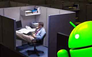 Tecnologie: lavoro turni android apps work notte