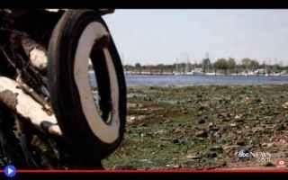 dal Mondo: città  stati uniti  spazzatura  ny