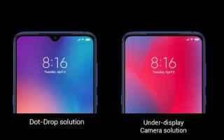 Cellulari: oppo  xiaomi  under-display camera  tech