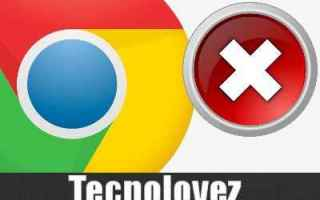 Internet: google chrome errori chrome pagine web