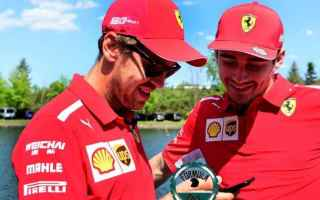 Formula 1: f1  canadiangp  ferrari  vettel  leclerc