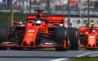 Vettel e Leclerc lanciano la sfida per la pole alle Mercedes, occupando come ieri pomeriggio, le pri