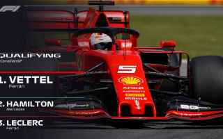 Qualifiche emozionanti a Montreal, Sebastian Vettel con un ultimo giro perfetto, riporta la Ferrari