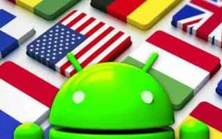 Tecnologie: traduttore android viaggi lingua travel