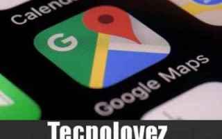 Google: google maps nuova funzione calamità