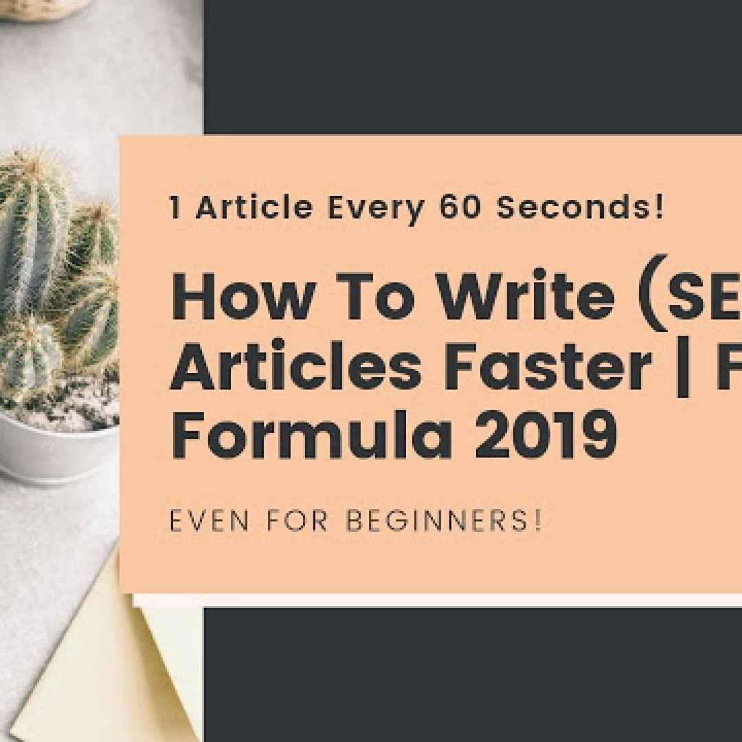 how to write articles faster  blogging