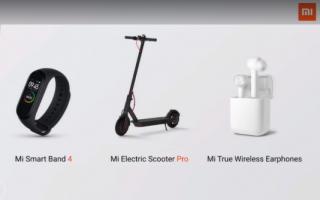 Gadget: xiaomi  mi band 4  mi 9t  mi scooter