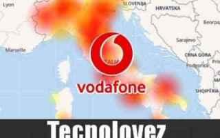Telefonia: vodafonedown vodafone rete down