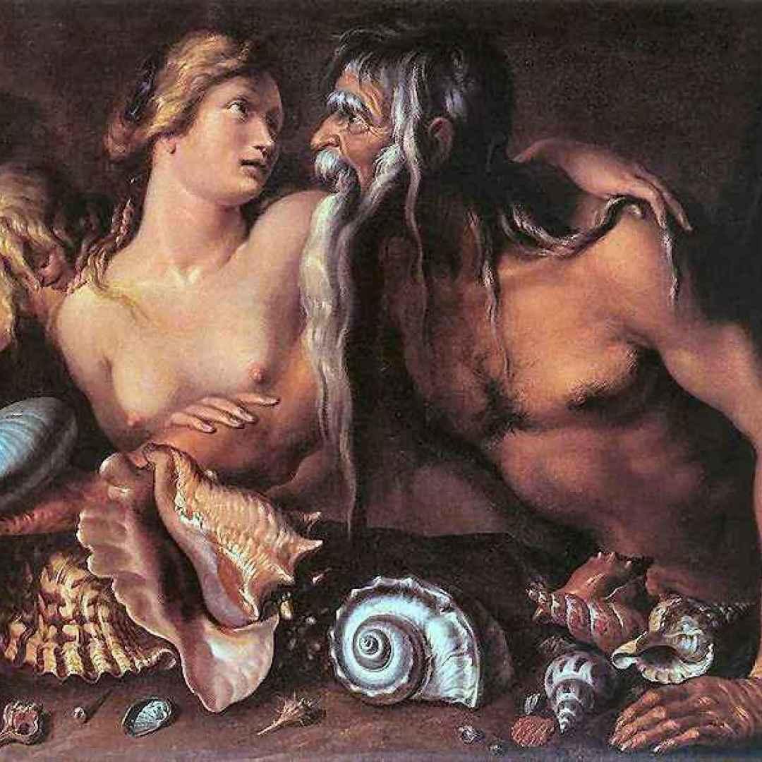 mitologia  nettuno  poseidone  rea