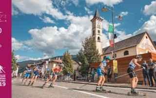 Sport: Fiemme Rollerski Cup – finale, 14 e 15 settembre 2019 in Val di Fiemme (TN)